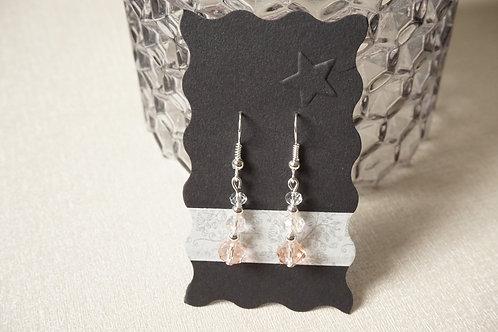 обеци с кристали