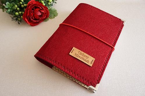 годишен планер червена корица