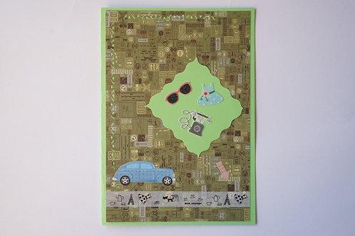 зелена картичка пътешествие