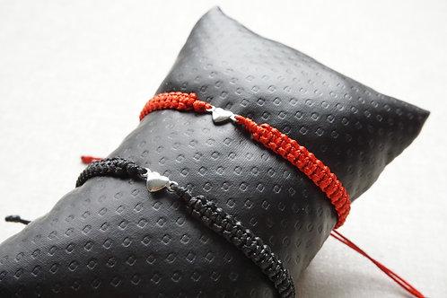 плетени гривни за двама