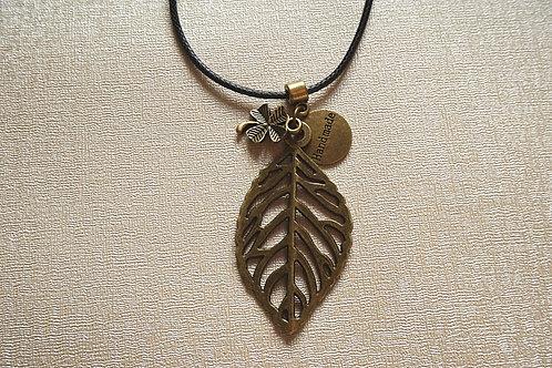 """Дамски медальон Ancient gold """"Lucky"""""""