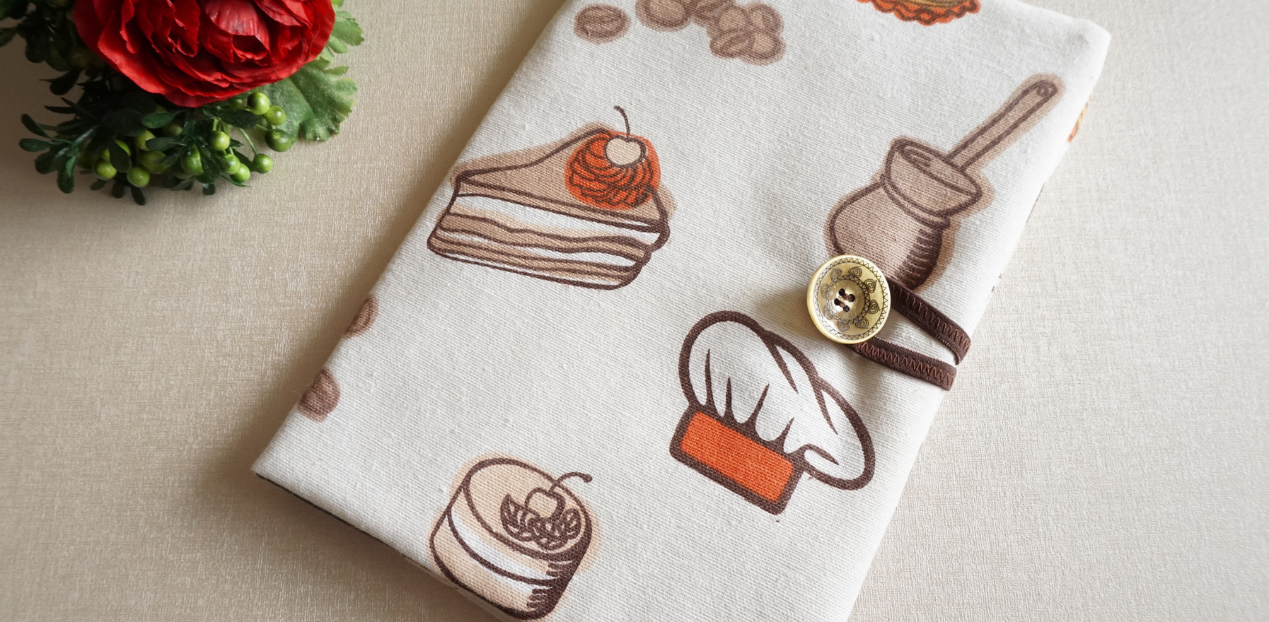 """Подвързия за книга """"Chef"""""""