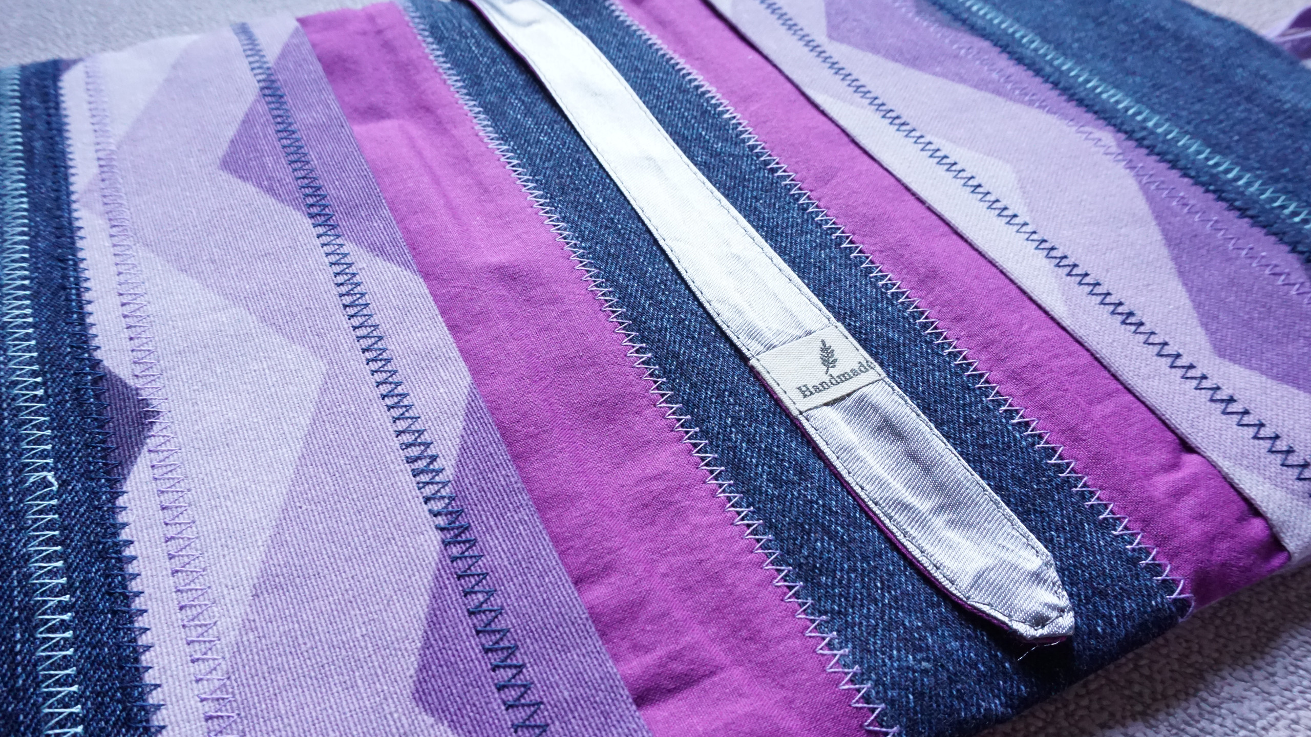 """Текстилна подвързия за книга """"Purple"""