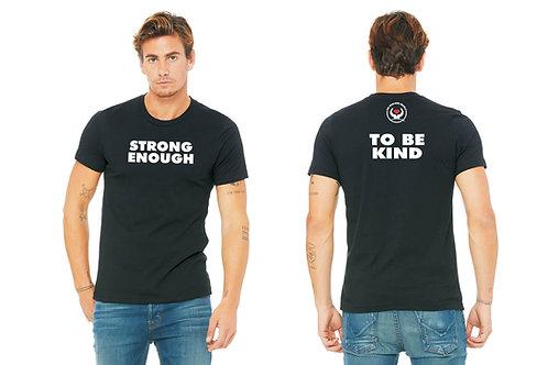 """Strong Enough"" T-Shirt - Black"