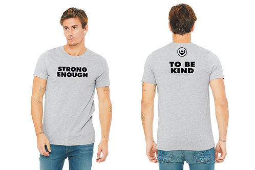 """Strong Enough"" T-Shirt - Gray"