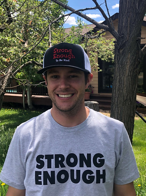 """Strong Enough"" Hat"