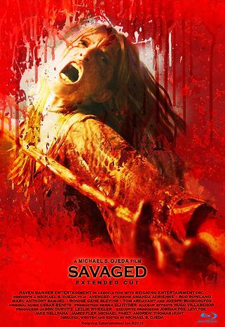 Savaged Poster Bluray Poster.jpg