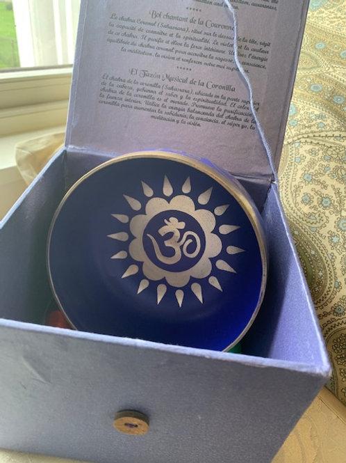 Crown Chakra Bb Sanskrit Bowl
