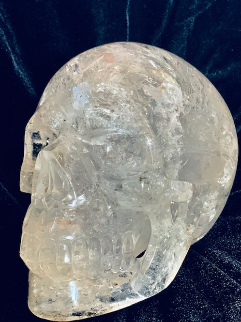 Small Activated Crystal Skull