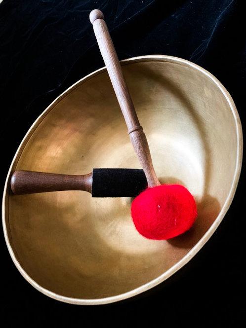 Large Hand Made 7 Metal Tibetan Singing Bowl