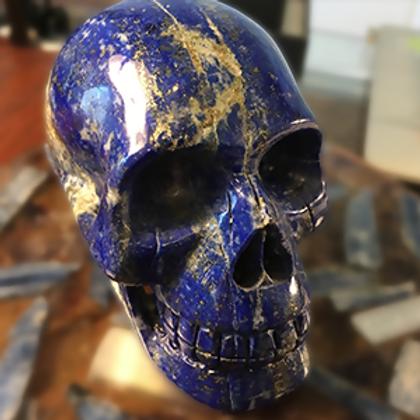 Large Lapis Skull