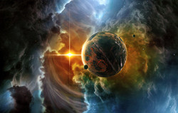 bigstock-Artistic-Planet-Flows-Into-A-B-