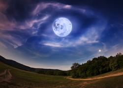 bigstock-Beautiful-Night-Sky-With-The-F-