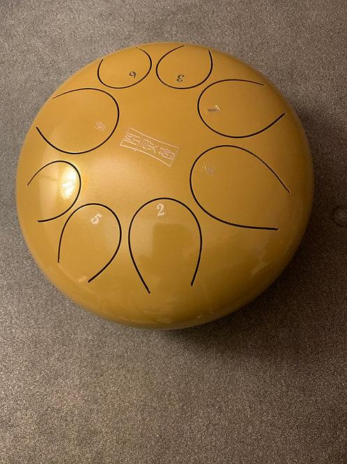 11 Inch Gold Tongue Drum - 8 Tones