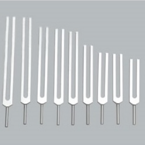 9 Piece Solfeggio Forks
