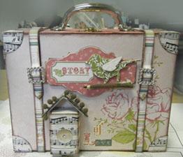Lida's suitcase