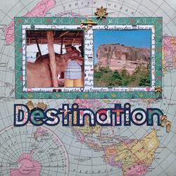 Destination layout