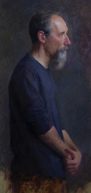 Stephen Early self portrait