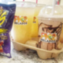 agua fresca, milkshake, shaved ice, raspado, helado, paleteria