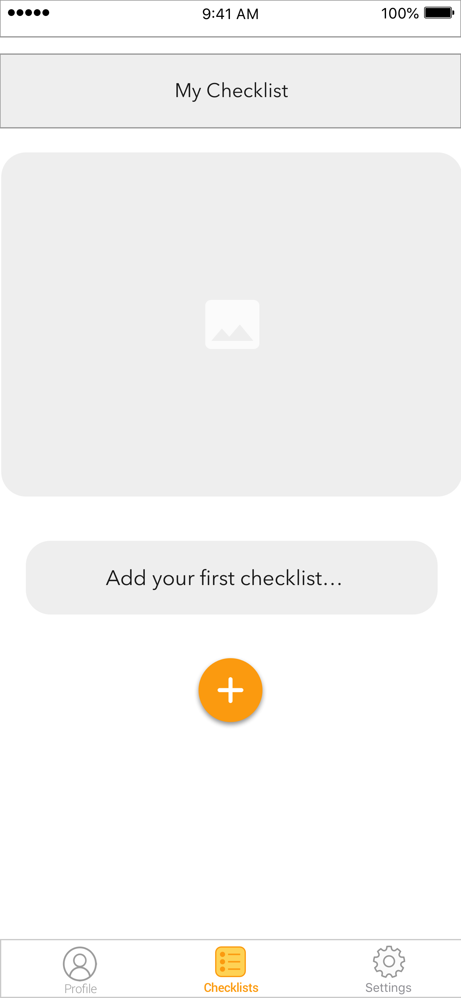 Add Checklist