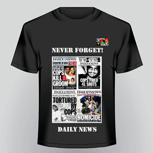 Never Forget T-Shirt 3