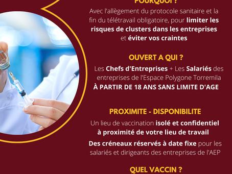 ENQUÊTE EXPRESS SUR L'OUVERTURE D'UN CENTRE DE VACCINATION COVID-19