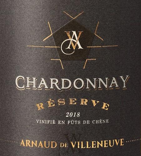 Chardonnay Réserve 2018 - Arnaud de Villeneuve
