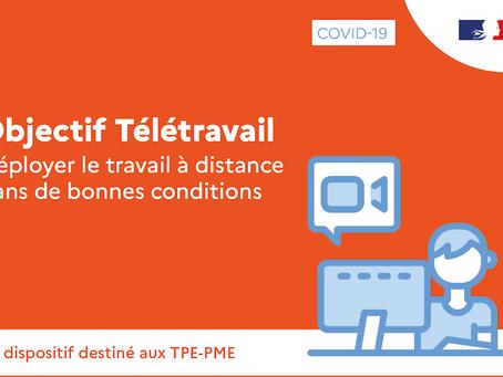 Objectif Télétravail : un appui-conseil gratuit pour déployer le travail à distance en TPE-PME