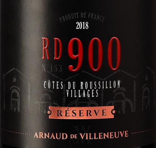 RD900 Réserve 2018 - Arnaud de Villeneuve