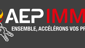 AEP IMMO : le nouveau service  immobilier 100% AEP