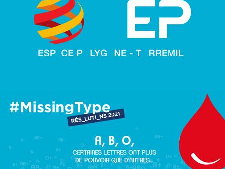 Missing Type : 1ère résolution 2021
