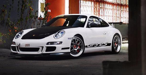 Винтик и Шпунтик Porsche GT3 RS