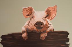 Piggy at Harleys Smokehouse