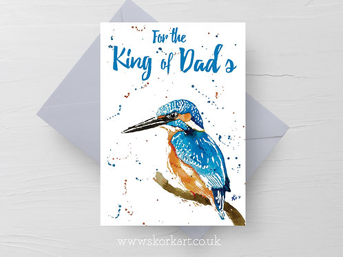 King of dads, Kingfisher, Card #202004