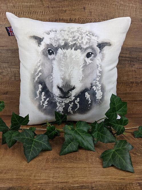 Luxury Art Print Cushion, Sheep, 35 x35 cm