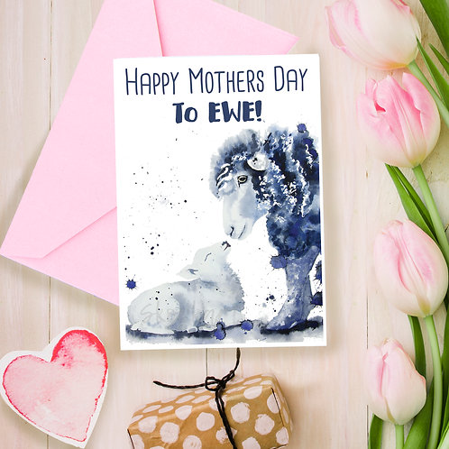 Happy Mothers Day to EWE!  Mothers day, for Mum, greetings card