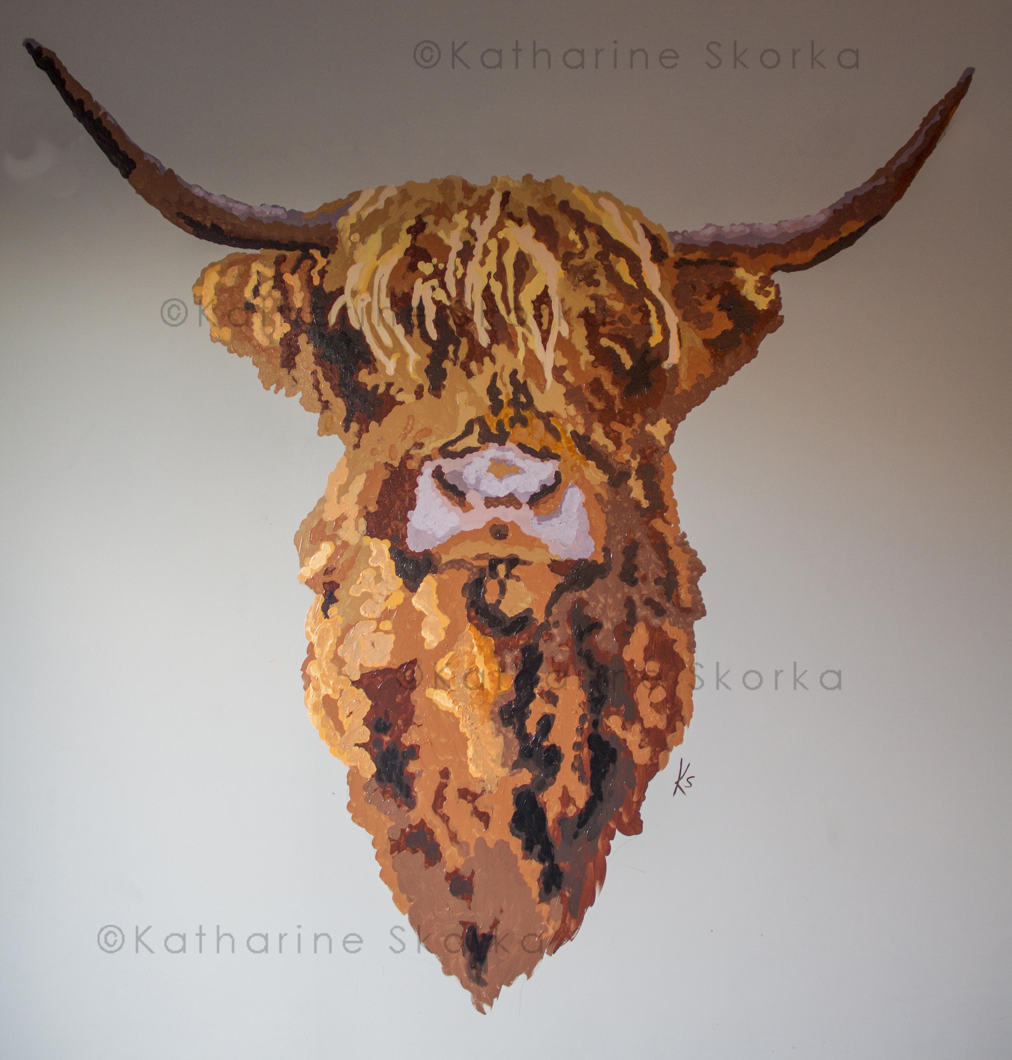 Cow at Harleys Smokehouse