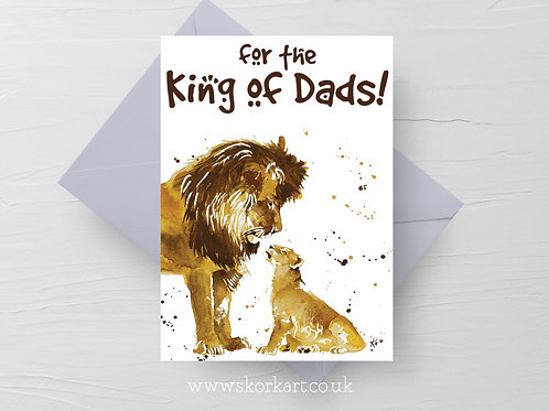 King of dads, Lion and Cub, Card #202006