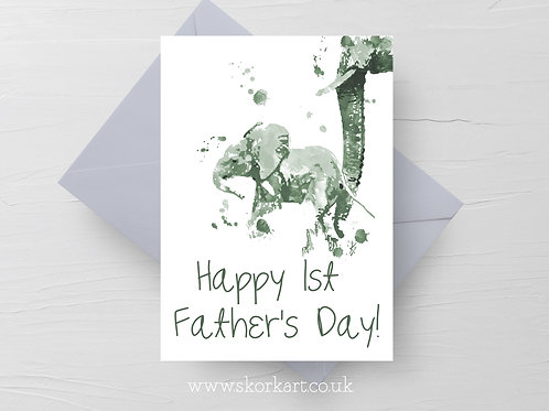 1st Fathers Day Card #202034