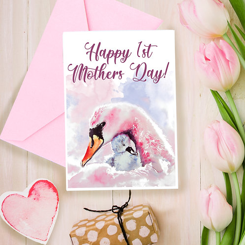 1st Mothers Day, Mothers day, for Mum, greetings card