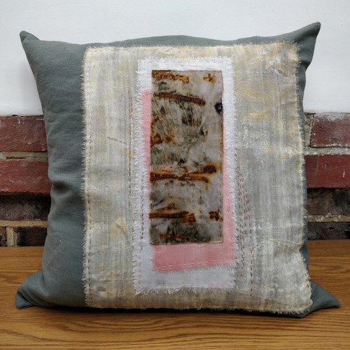 'Rust' luxury sofa cushion