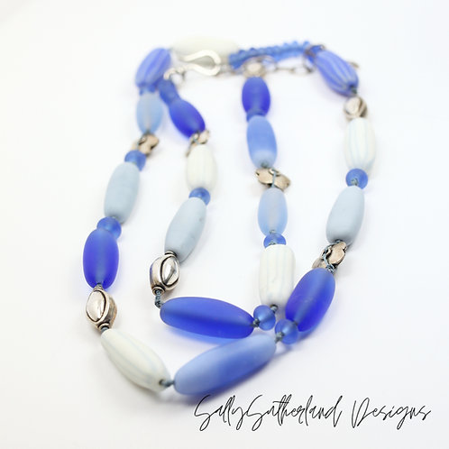 Longline Knotted Necklace