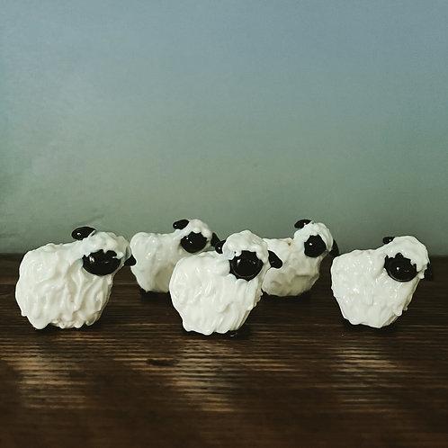 Swiss Sheep (1) Bead