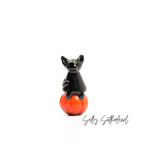 Cat Pumpkin Bead