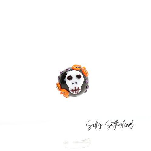 Skully-boo Focal Bead