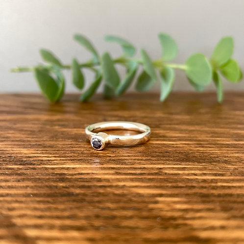 Grey/Violet Spinel Ring N.5 (7)