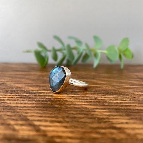 Labradorite Ring L (5.3/4)