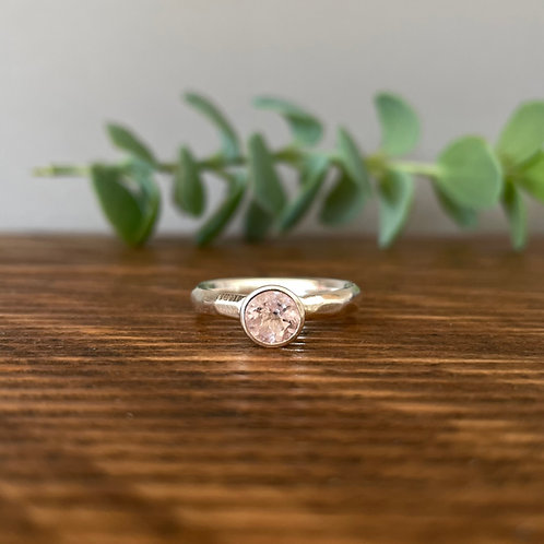 Morganite Ring P (7.5)