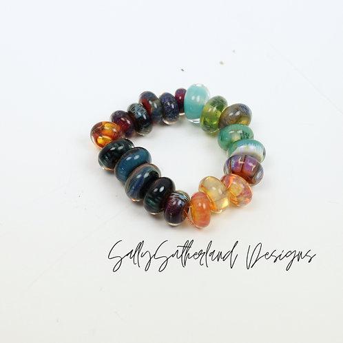 Small Borosilicate Bead Set