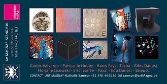 Affordable Art Fair | Light art | Art cinétique | Bruxelles - Tour & Taxis | BrieucC